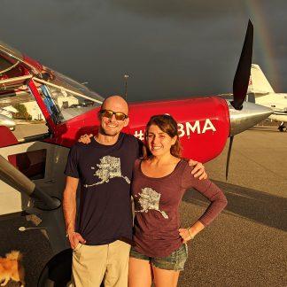 Alaska Plane Names T-Shirt
